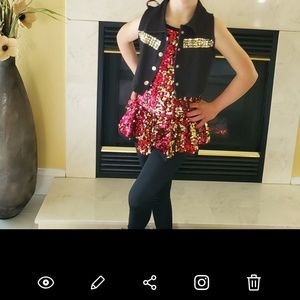 Girls dance outfit
